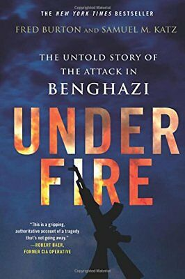 Under Fire,PB,Fred Burton - NEW