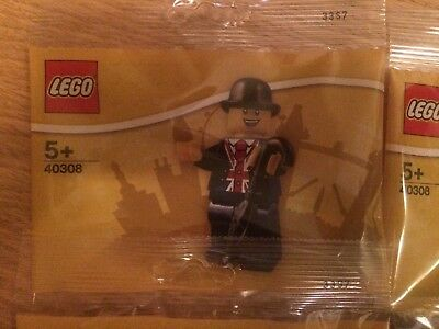 Lego Lester minifigure 40308 exclusive from Leicester Square store & 30609