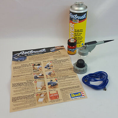 Revell Airbrush Spritzpistole Starter Class set + Email Color 31131 Feuerrot