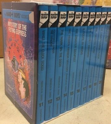 The Hardy Boys Collection: Vol 11-20  Books Gift Box Set Franklin W Dixon New