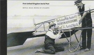 Prestige   Booklet   First  United  Kingdom  Aerial  Post