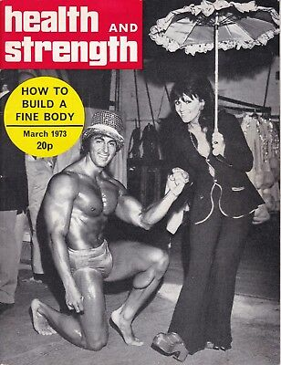 Health And Strength Bodybuilding Magazine Mar 1973