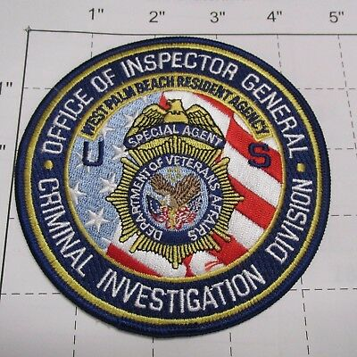 Veterans Affairs Inspector General Criminal Investigation Cid Sa Florida Patch