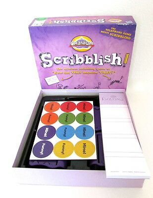 Cranium Scribblish Board Game How Did This Become That? New-Opened Box