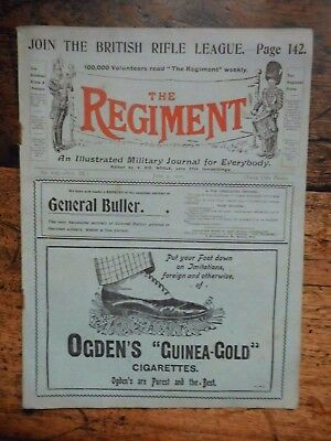 The Regiment,  Military Journal June 2Nd 1900 The London Bus War Horses