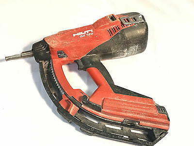 HIlti GX 120 Nail Gun with X-120 GM40