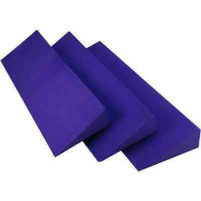 1 x Brand New Purple Yoga Wedge - ideal for studio or home use