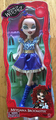 "New Bratzillaz House Of Witchez Halloween ""meygana Broomstix"" Doll"