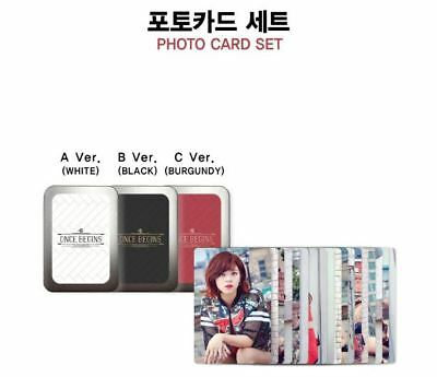 TWICE FAN MEETING ONCE BEGINS OFFICIAL GOODS PHOTOCARD PHOTO CARD SET C Ver. NEW