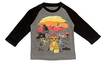NEW Toddler Boys' Lion Guard Long Sleeve T-Shirt  Size 3T & 4T