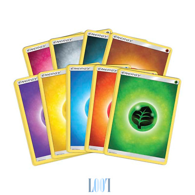 Pokemon TCG Energy Pack - Sun & Moon Series - Pokemon TCG