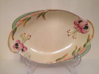 Royal Winton Grimwades RARE Tiger Lily Serving Plate 🌺 Shabby Chic