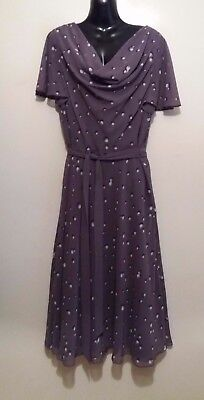 Ideal occasion/mother of bride quality dress by jacques Vert size 16 RRP £169.00