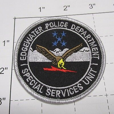 Edgewater Police Dept Special Services Unit Response Swat Tactical Florida Patch