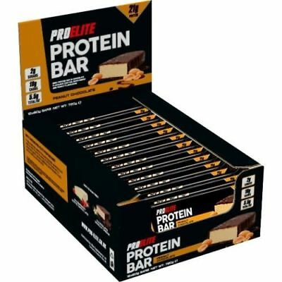 Pro Elite High protein bar low carbs low sugar meal replacement diet bars