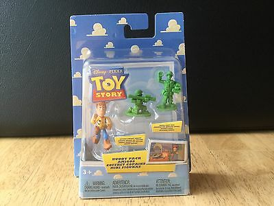 NEW Toy Story Action Sheriff Woody & Green Army Men Buddy Pack Amigos Figures
