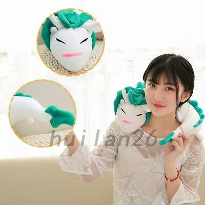 White Dragon U-Shaped Travel Neck Pillow Toy Doll Head Rest Cushion Support