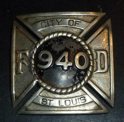 Antique US Fire Brigade badge - City of St.Louis 940 Fire Department
