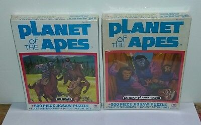 1970s Planet of the Apes HG Toys Puzzles