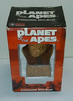 2002 Planet of the Apes Dr Zaius Mini Bust Statue