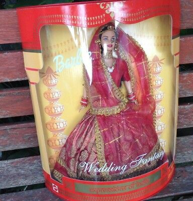 Barbie Expressions Of India Wedding Fantasy New Boxed