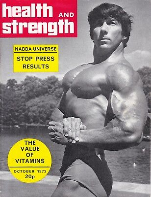 Health And Strength Bodybuilding Magazine October 1973