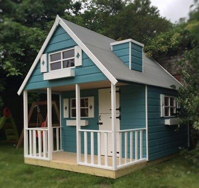 Childrens Wooden Playhouse Wendyhouse - NEW -