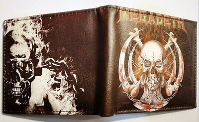 MEGADETH Inspired Wallet **BRAND NEW**