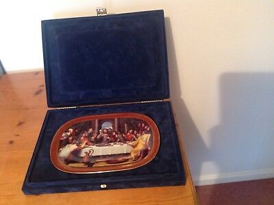 The Last Supper Porcelain Plate - Boxed