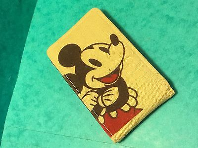 "Disney purse mobile phone case Mickey Mouse 4 1/2"" long"