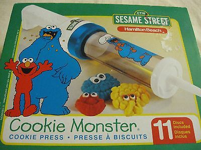 Hamilton Beach Cookie Monster Cookie Press With Box