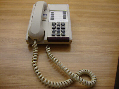 Vintage White Signature Northern Telecom Desk Telephone Made In Canada