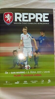 Official Programme Czech Republic-San Marino 08.09.2017