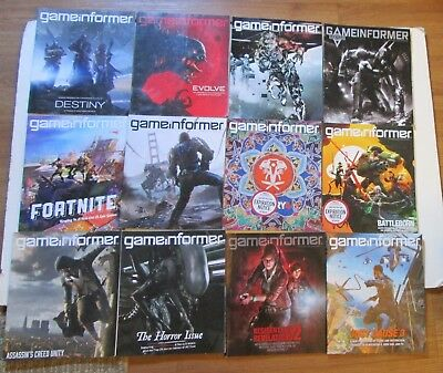 Lot of 21 Game Informer Video Gaming Magazines RARE OOP Playstation XBOX Sony