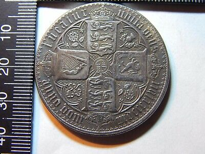 1847 Great Britian. CROWN 5/- VICTORIA 'GOTHIC' TYPE 150 years anniversery