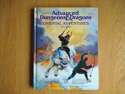 Oriental Adventures, Advanced Dungeons and Dragons First Edition - Gary Gygax