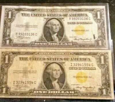 Two North Africa $1 Silver Certificates