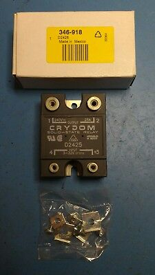 D2425 25 A rms Solid State Relay, Zero Cross, Surface Mount SCR, 280 V rms Max