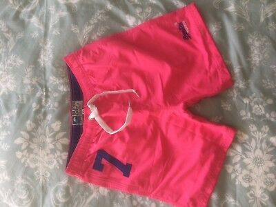 superdry swim shorts size small