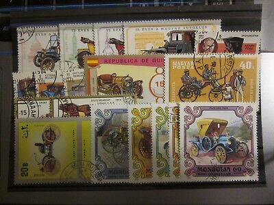 Oldtimer Autos Lot / 1 Steckkarte