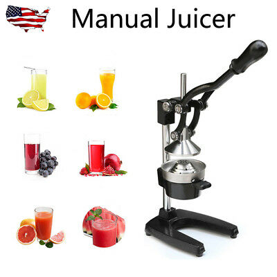 Manual Juicer Heavy Duty Commercial Bar Citrus Hand Press Lemon Fruit Squeezer
