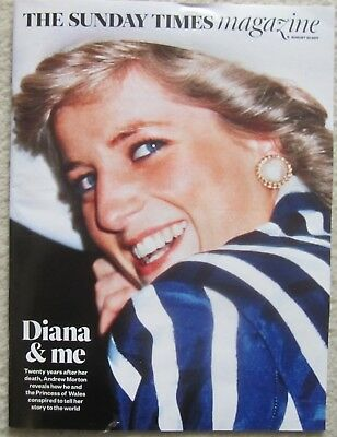 Andrew Morton and Princess Diana – Sunday Times Magazine – 20 August 2017
