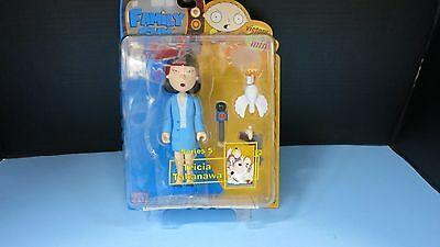 "Tricia Takanawa Asian Reporter  Family Guy Series 5 Mezco 6"" Mib Action Figure"