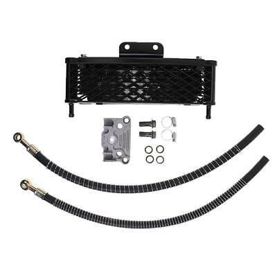 Oil Cooler Engine System Kit For 140/150/160cc Motorcycle Pit Bike - Black