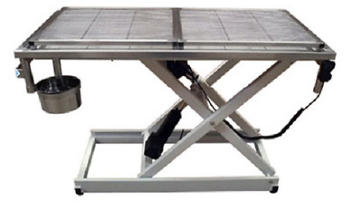 New Veterinary Surgical Operating Table DH04-B Electric Removable Wire Mesh Top