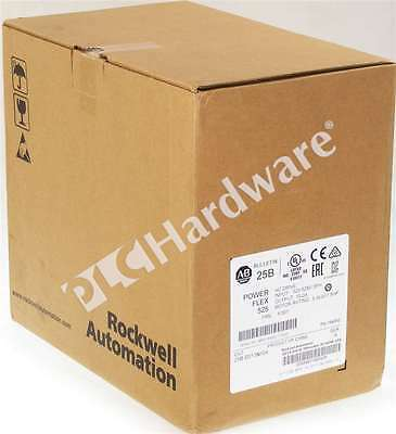 New Sealed Allen Bradley 25B-D013N104 /A 2017 PowerFlex 525 AC Drive 480V 7.5HP