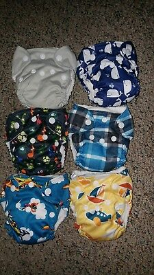 brand new thx newborn aio cloth diapers