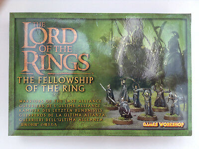 Warriors of the Last Alliance - The Fellowship of the Ring, Lord of the Rings