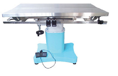 New Veterinary Surgical Operating Table DH76 Electric Tilt Stainless Steel V-Top
