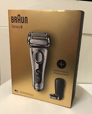 Braun Series 9 9260s Wet & Dry Electric Shaver Premium Silver Edition Costs £300